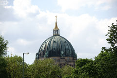 Cupola Berlin Cathedral Royalty Free Stock Photo