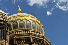 Cupola of Berlin synagogue Royalty Free Stock Images