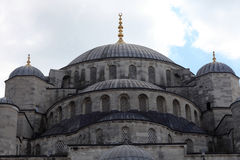 Cupola of blue mosque Stock Photos