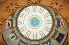 Cupola of Boston Custom House, Massachusetts, USA Royalty Free Stock Photos