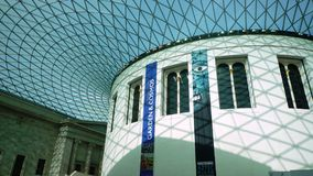 Cupola of British Museum Royalty Free Stock Photos