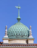 Cupola. Budapest, Hungary, Castle Hill, buildings decorated cupola Royalty Free Stock Photography