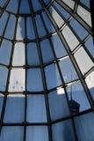 Cupola-casa di vetro Immagini Stock