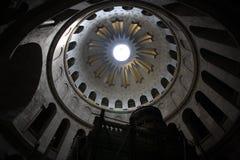 Cupola, chiesa del Sepulchre santo Fotografia Stock