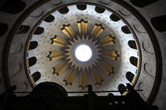Cupola, chiesa del Sepulchre santo Fotografia Stock Libera da Diritti