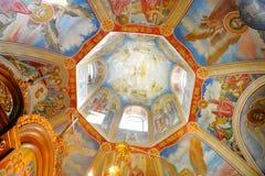 cupola dekorerad strömförsörjning Arkivbilder