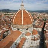 Cupola del Brunelleschi royalty-vrije stock afbeelding