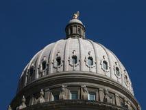 Cupola del Campidoglio dello stato dell'Idaho Fotografia Stock