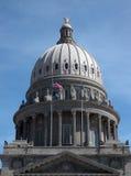Cupola del Campidoglio dello stato dell'Idaho Immagine Stock Libera da Diritti