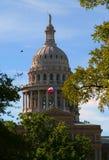 Cupola del Campidoglio di TX Fotografia Stock