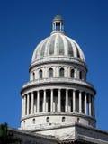 Cupola del Capitolio del primo piano Fotografie Stock Libere da Diritti