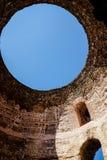 Cupola del cielo del palazzo di Diocleziano Immagine Stock