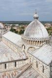 Cupola del duomo della cattedrale di Pisa, Toscana, Italia Fotografia Stock Libera da Diritti