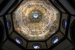 Cupola del duomo - Florence Italy Immagini Stock Libere da Diritti