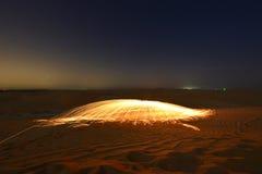 Cupola del fuoco del deserto Immagini Stock
