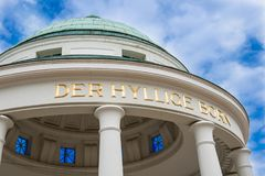 Cupola del hylligen sopportato in cattivo Pyrmont Fotografie Stock Libere da Diritti