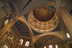 Cupola del lichene della chiesa fotografie stock