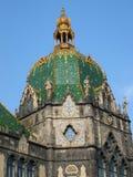 Cupola del museo di Budapest Fotografia Stock