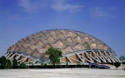 Cupola del palazzo di sport Fotografie Stock