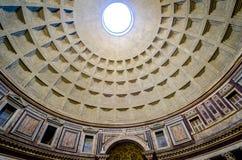 Cupola del panteon Immagini Stock