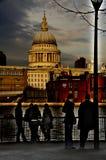 Cupola del ` s di St Paul a Londra Regno Unito Fotografia Stock