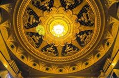 Cupola del Teatro dell'Opera di Kyiv Fotografia Stock