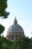Cupola del Vaticano di St Peter Fotografia Stock Libera da Diritti