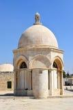 Cupola dell'ascensione, Temple Mount, vecchia città di Gerusalemme, Israe immagine stock libera da diritti
