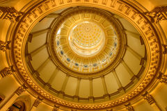 Cupola dell'oro immagine stock libera da diritti
