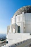 Cupola dell'osservatorio di Griffith Fotografie Stock Libere da Diritti