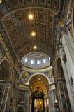 Cupola della basilica del ` s di St Peter Immagini Stock