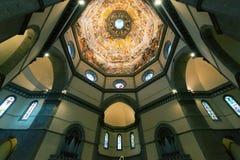 Cupola della basilica di Santa Maria del Fiore a Firenze Immagini Stock Libere da Diritti