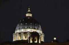 Cupola della basilica di St Peters nel Vaticano Immagini Stock Libere da Diritti