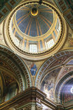 Cupola della basilica Nuestra Senora de Merced nella capitale di Cordova, Argentina Immagine Stock Libera da Diritti