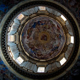 Cupola della cappella di San Gennaro immagine stock