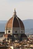 Cupola della cattedrale di Firenze, Italia fotografia stock libera da diritti