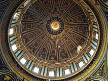 Cupola della cattedrale di St Peter Fotografia Stock Libera da Diritti