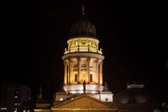 Cupola della cattedrale tedesca a Berlino Fotografia Stock Libera da Diritti