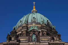 Cupola della cattedrale tedesca a Berlino Immagine Stock