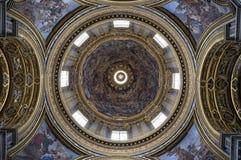 Cupola della chiesa Fotografia Stock