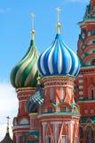 Cupola della chiesa Colori differenti della cupola christianity fotografie stock libere da diritti