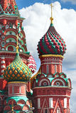 Cupola della chiesa Colori differenti della cupola christianity fotografia stock libera da diritti