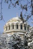 Cupola della chiesa cristiana Fotografia Stock
