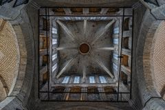 Cupola della chiesa di Gand immagini stock libere da diritti
