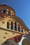 Cupola della chiesa ortodossa Immagine Stock