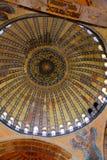Cupola della moschea Hagia Sofia Immagini Stock Libere da Diritti