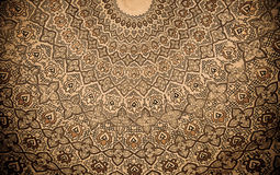 Cupola della moschea, ornamenti orientali, Samarcanda Immagini Stock