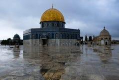 Cupola della roccia, Gerusalemme fotografia stock