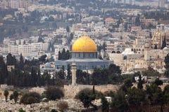 Cupola della roccia Gerusalemme Fotografia Stock Libera da Diritti