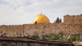 Cupola della roccia Gerusalemme Fotografie Stock Libere da Diritti